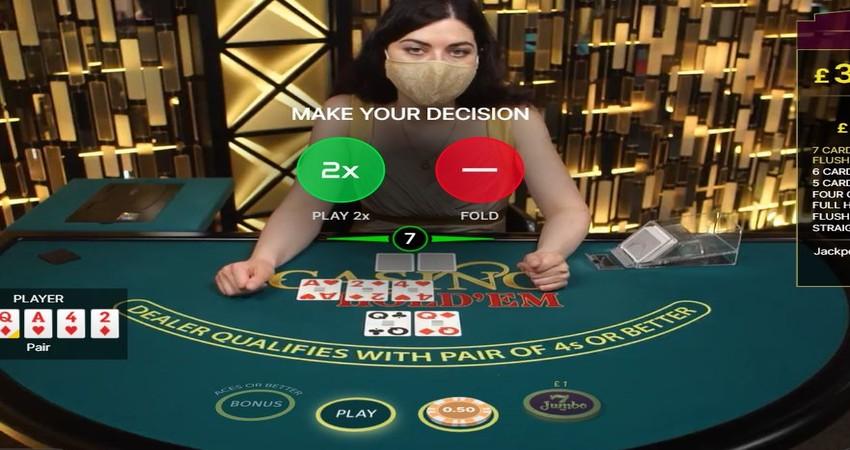 Casino Holdem Play Fold