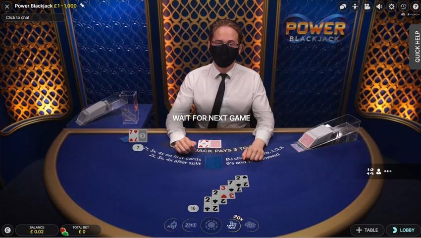 Live Blackjack Digital Cards