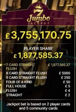 ive Casino Holdem Side Bets