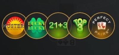 Side Bets Live Casino Blackjack