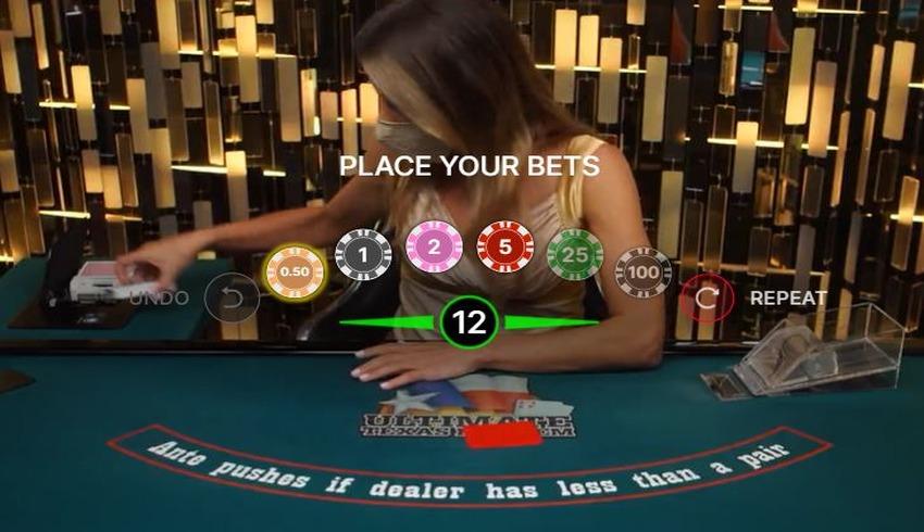 Texas Holdem Live Chips