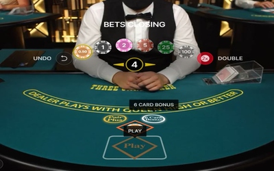 3 Card Poker Bet Amount
