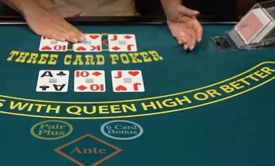 3 Card Poker Scanner