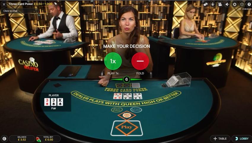 3 Card Poker Software